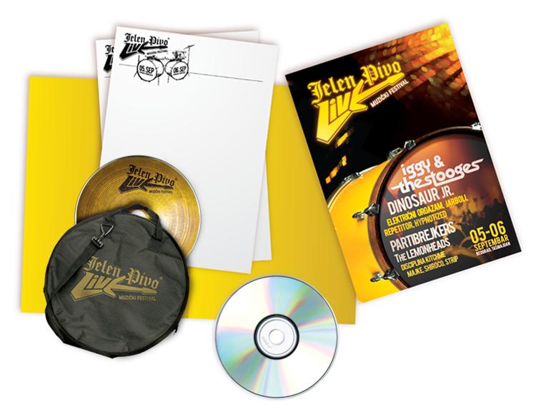 Jelen Pivo Live 03 CD+fascikla